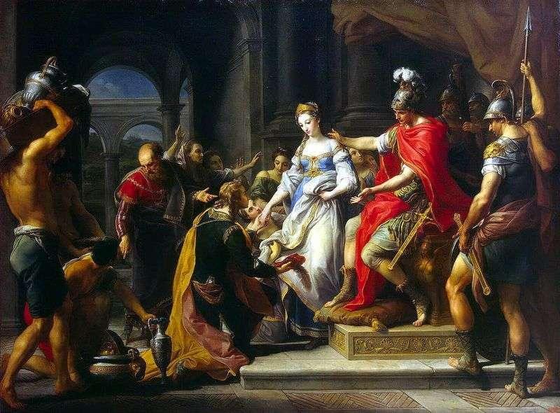 Afrykańska Scipio Abstinence   Pompeo Batoni