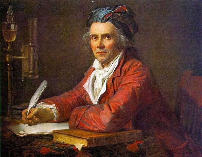 Portret doktora Alphonse Leroy   Jacquesa Louisa Davida