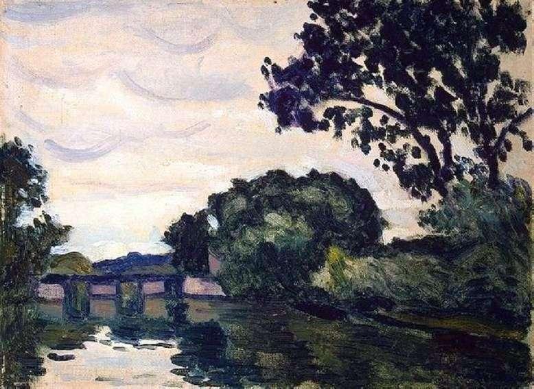 Krajobraz z mostem   Albert Marquet