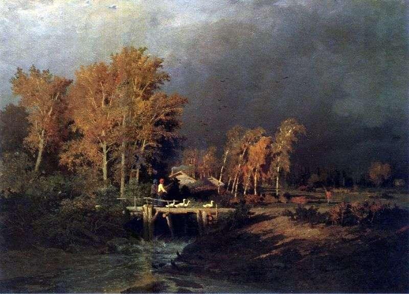 Przed deszczem   Fiodor Wasiljew