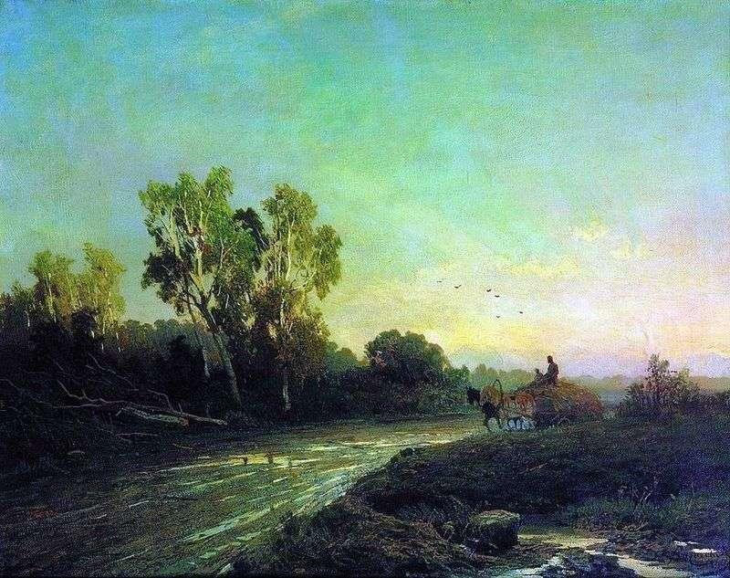 Po deszczu   Fiodor Wasiljew