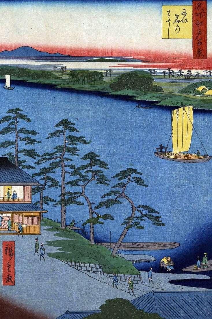 Prom Niidzuku   Utagawa Hiroshige