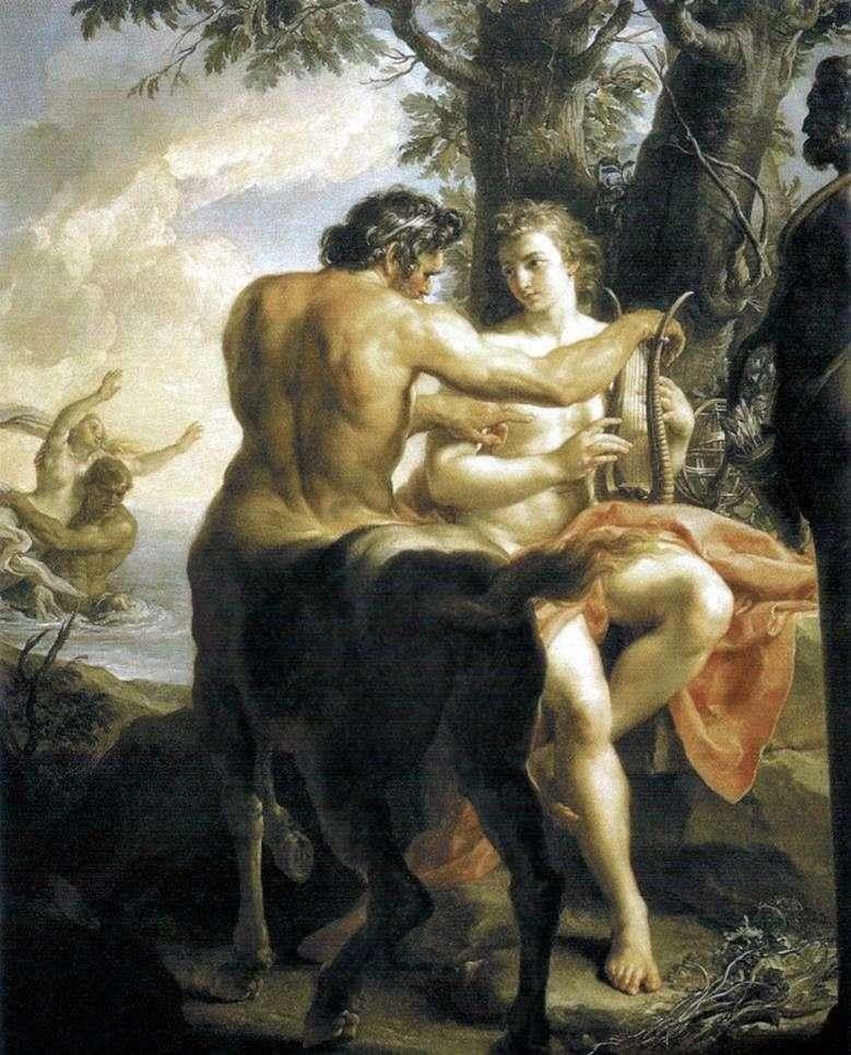Centaur Chiron naucza Achillesa   Pompeo Batoni