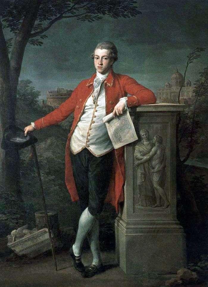 Książę w Rzymie, Charles Roberts   Pompeo Batoni