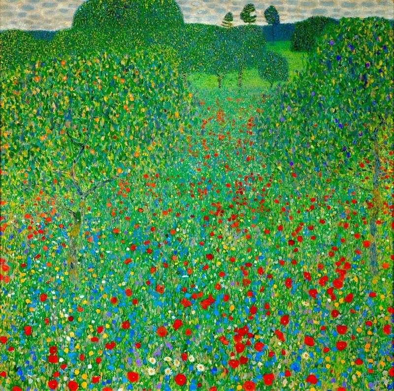 Pole maku   Gustav Klimt