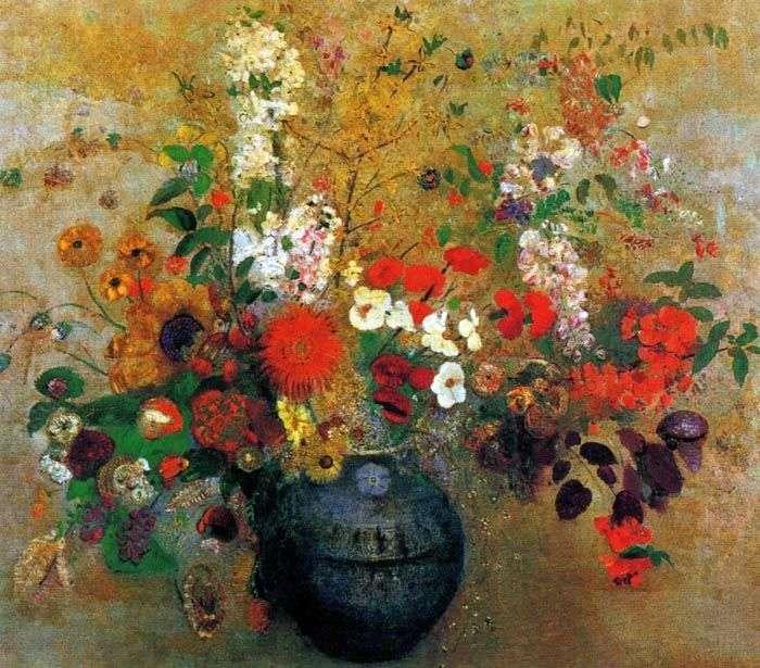 Bukiet kwiatów   Odilon Redon