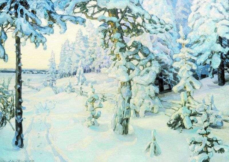 Zimowe marzenie   Apollinary Vasnetsov