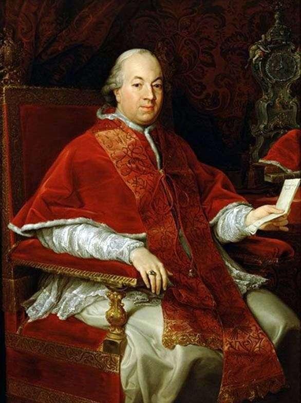 Papież Pius VI   Pompeo Batoni