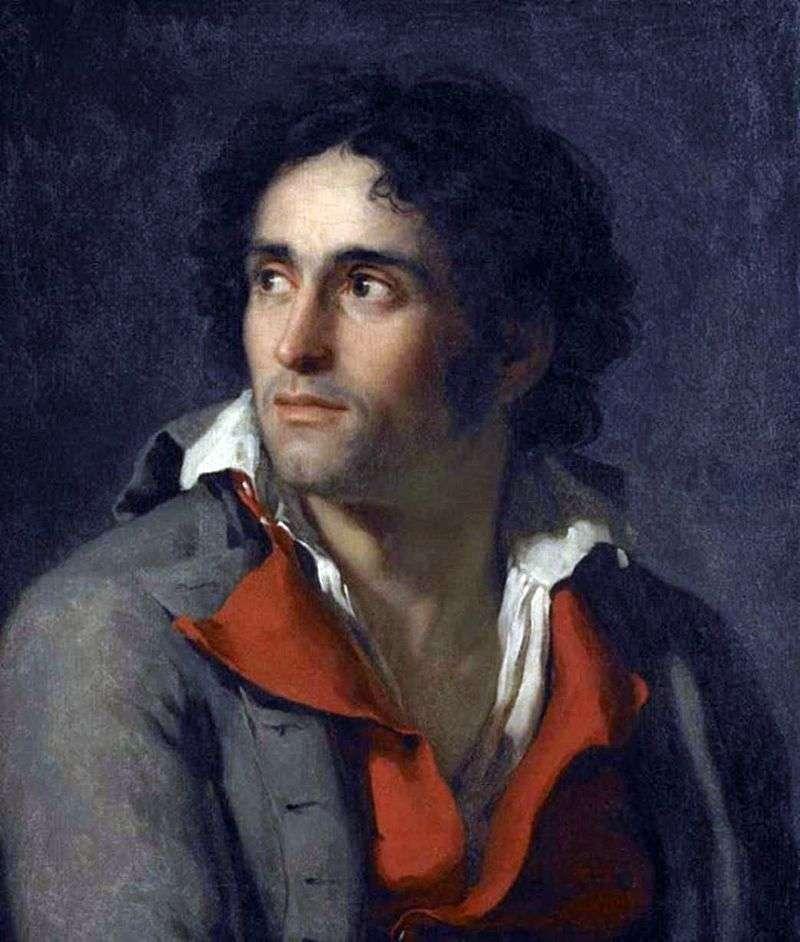 Portret Jailera   Jacques Louis David