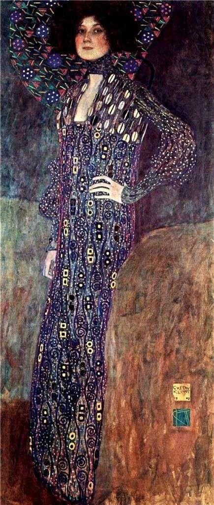 Portret Emilii Flege   Gustav Klimt