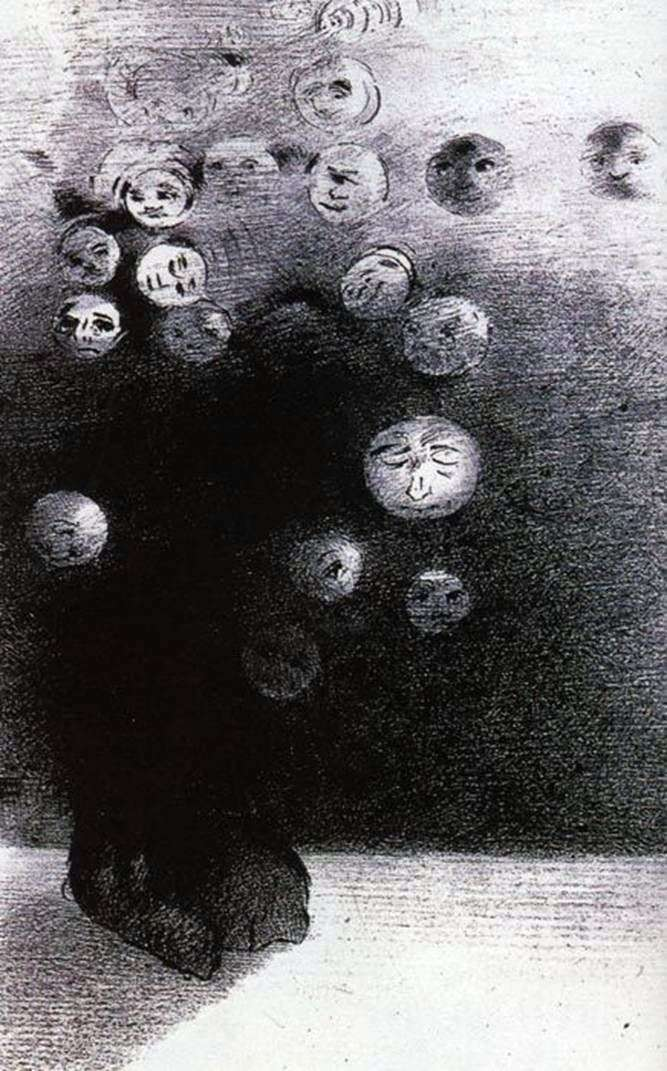 Litografie   Odilon Redon