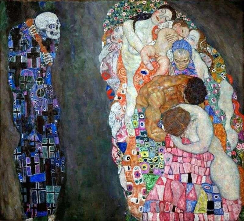 Śmierć i życie   Gustav Klimt