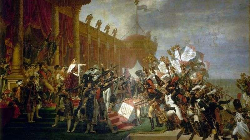 Dystrybucja Orłów   Jacques Louis David