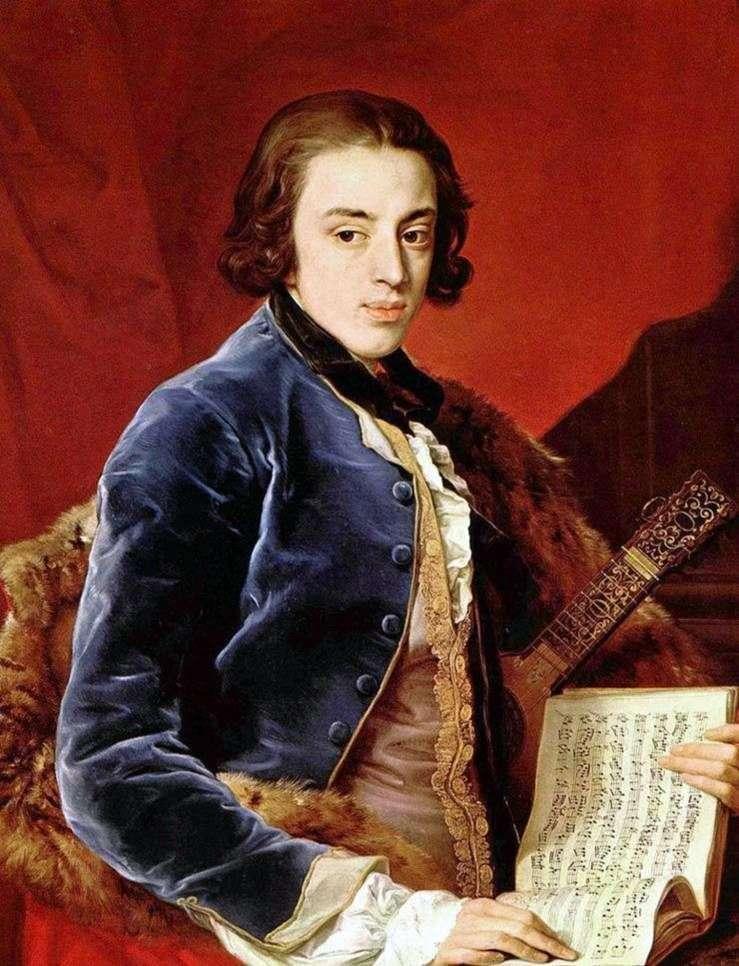 Portret markiza John Montermere   Pompeo Batoni