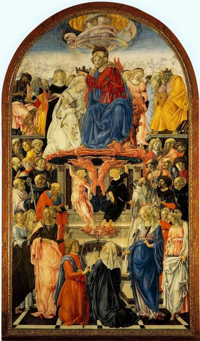 Koronacja Marii   Francesco di Giorgio Martini