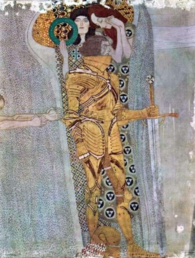 Frieze Beethoven, Wandgem   Gustav Klimt