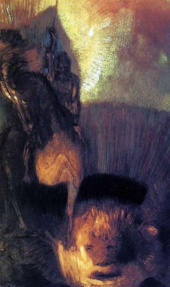 Saint George   Odilon Redon