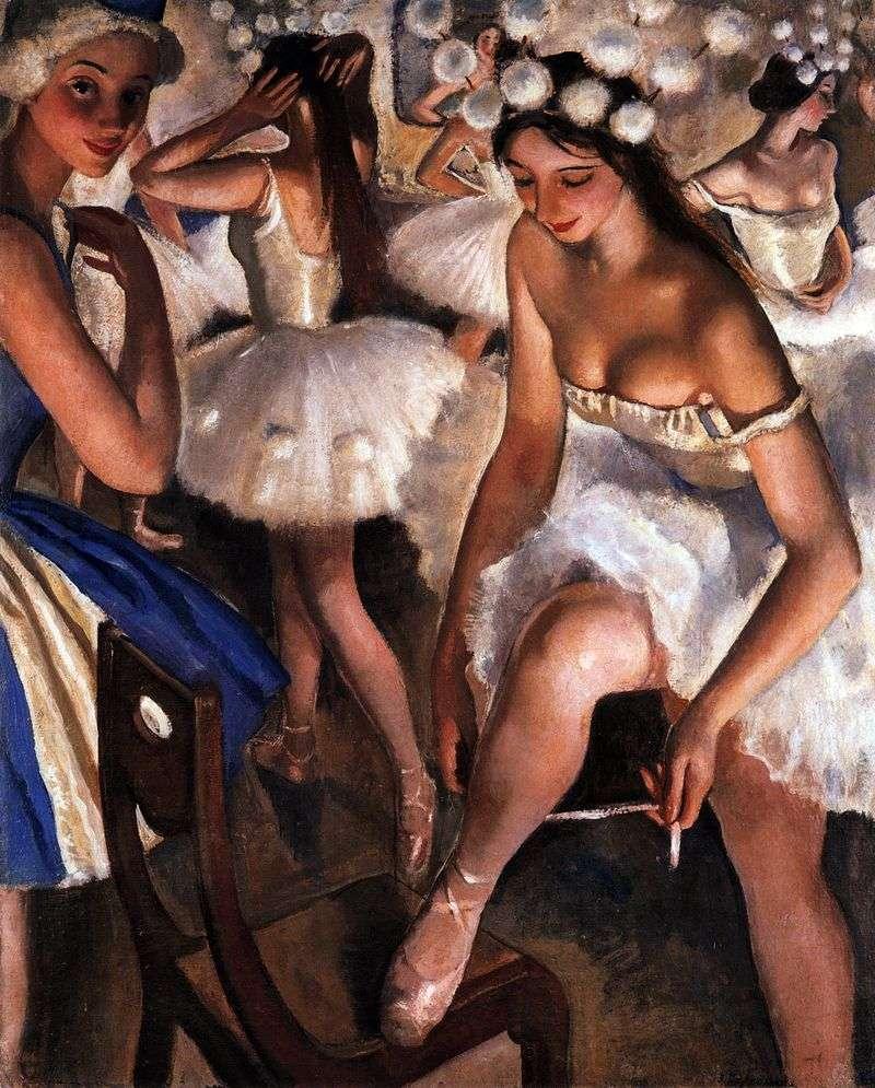Toaleta baletowa. Płatki śniegu   Zinaida Serebryakova