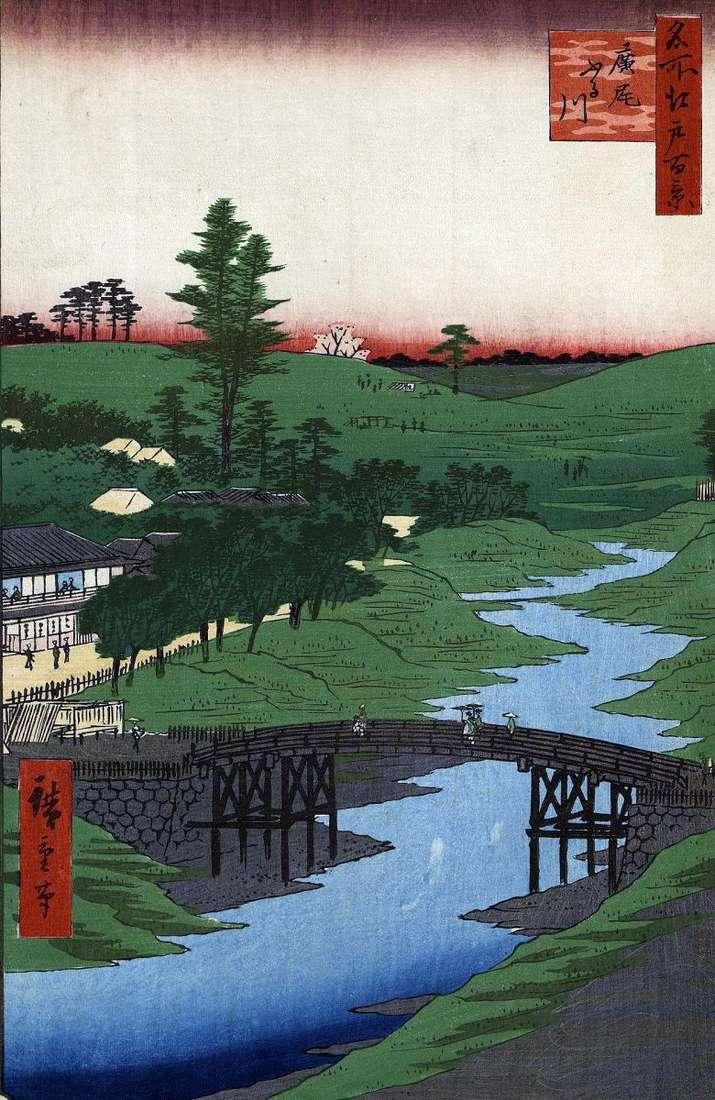 Rzeka Furukawa w rejonie Hiroo