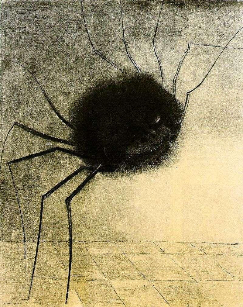 Uśmiechnięty pająk   Odonon Redon