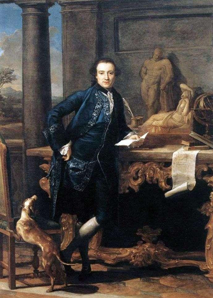 Portret Charlesa Kroula   Pompeo Batoni