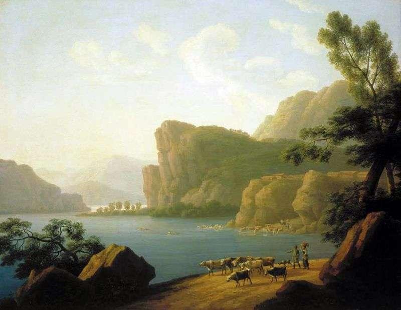Widok na rzekę Selenga na Syberii   Andrei Martynov