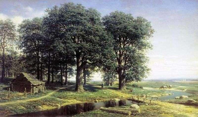 Oak Grove   Mikhail Konstantinovich Klodt