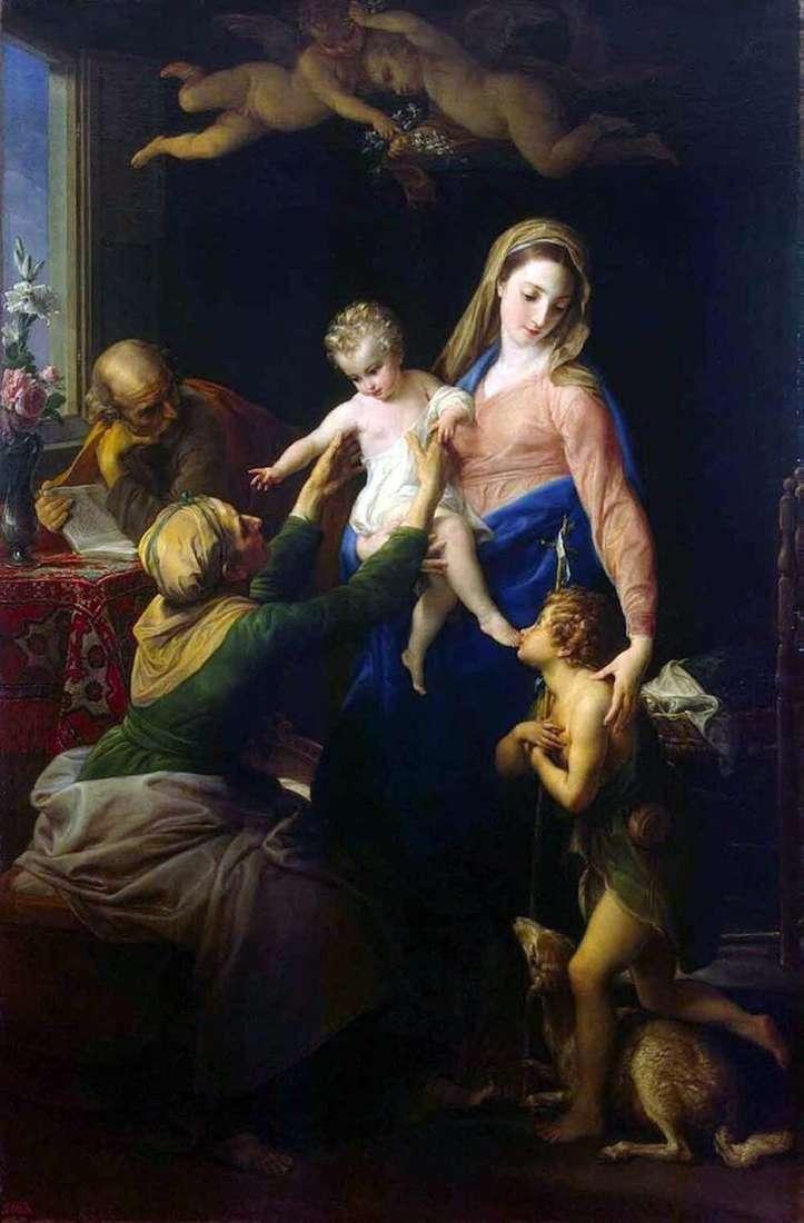 Święta rodzina   Pompeo Batoni