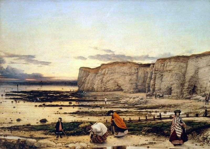 Piguell Bay w hrabstwie Kent   William Dyce