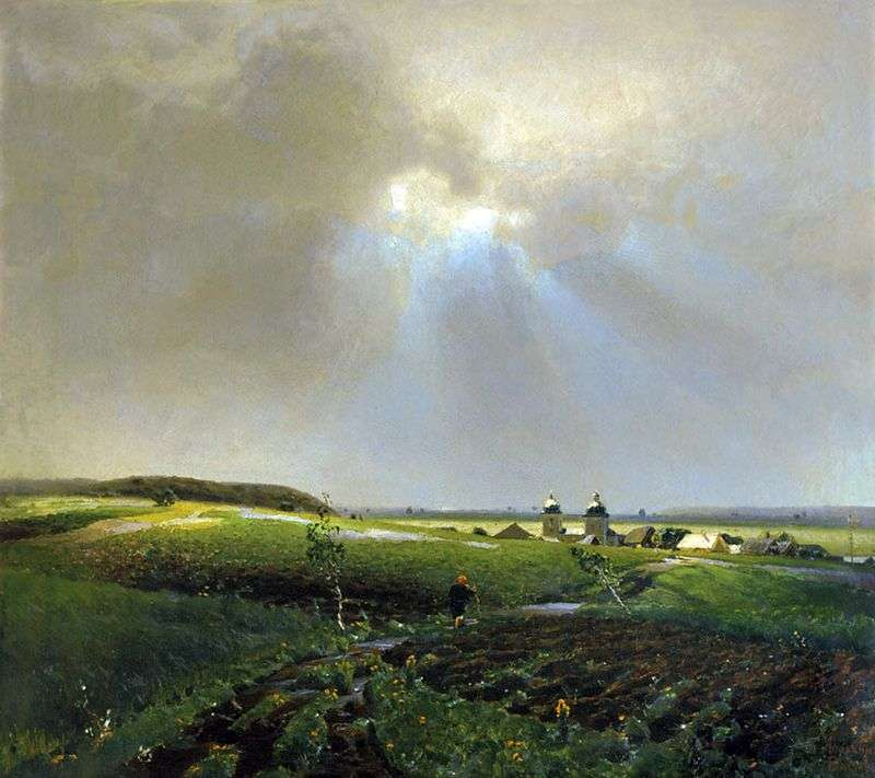 Po deszczu   Apolinary Vasnetsov