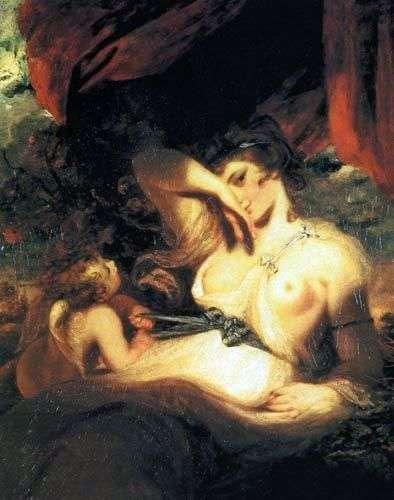Amorek uwalnia pas Wenus   Joshua Reynolds