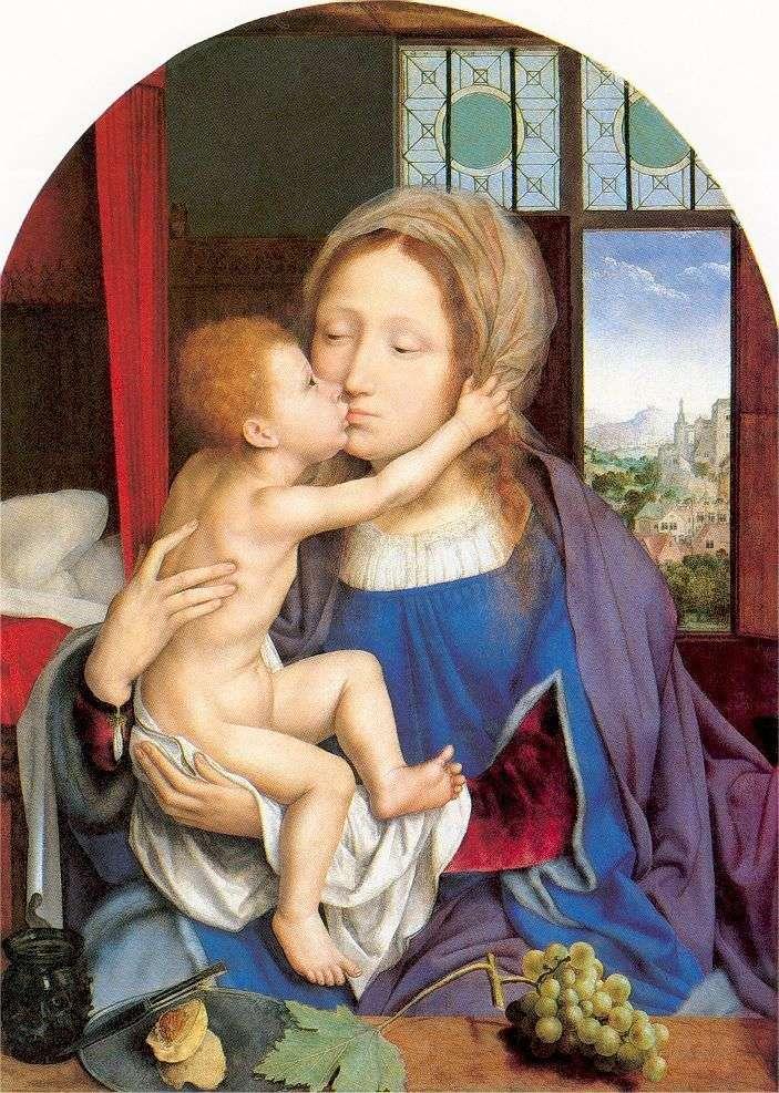 Maryja i dziecko   Quentin Mussys