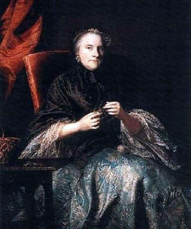 Anna, hrabina Olbmarle   Joshua Reynolds