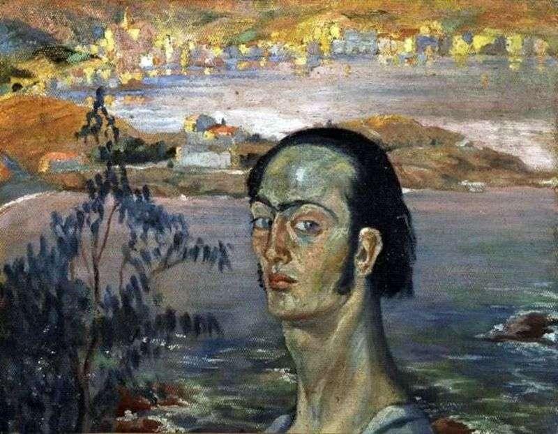 Autoportret z Raphael Neck   Salvador Dali