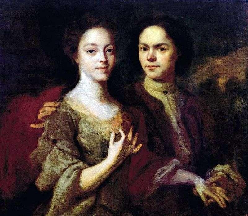Autoportret z żoną Iriną Stepanovną   Andriejem Matwiediewem