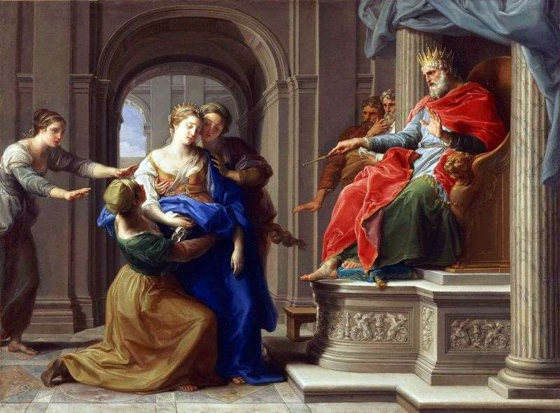 Estera przed Artakserksesiem   Pompeo Batoni