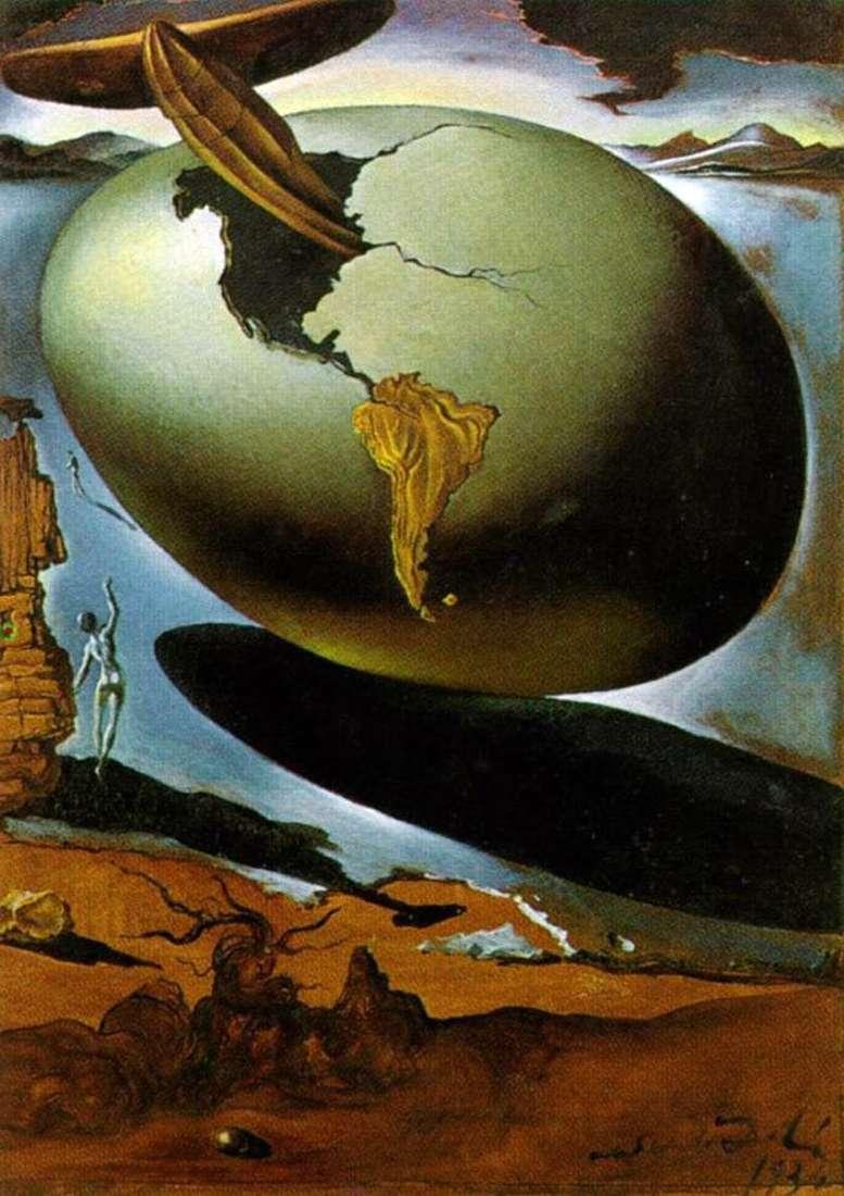 Alegoria amerykańskich świąt   Salvador Dali