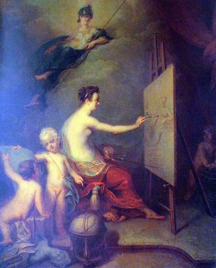 Alegoria malarstwa   Andriej Matwiejew