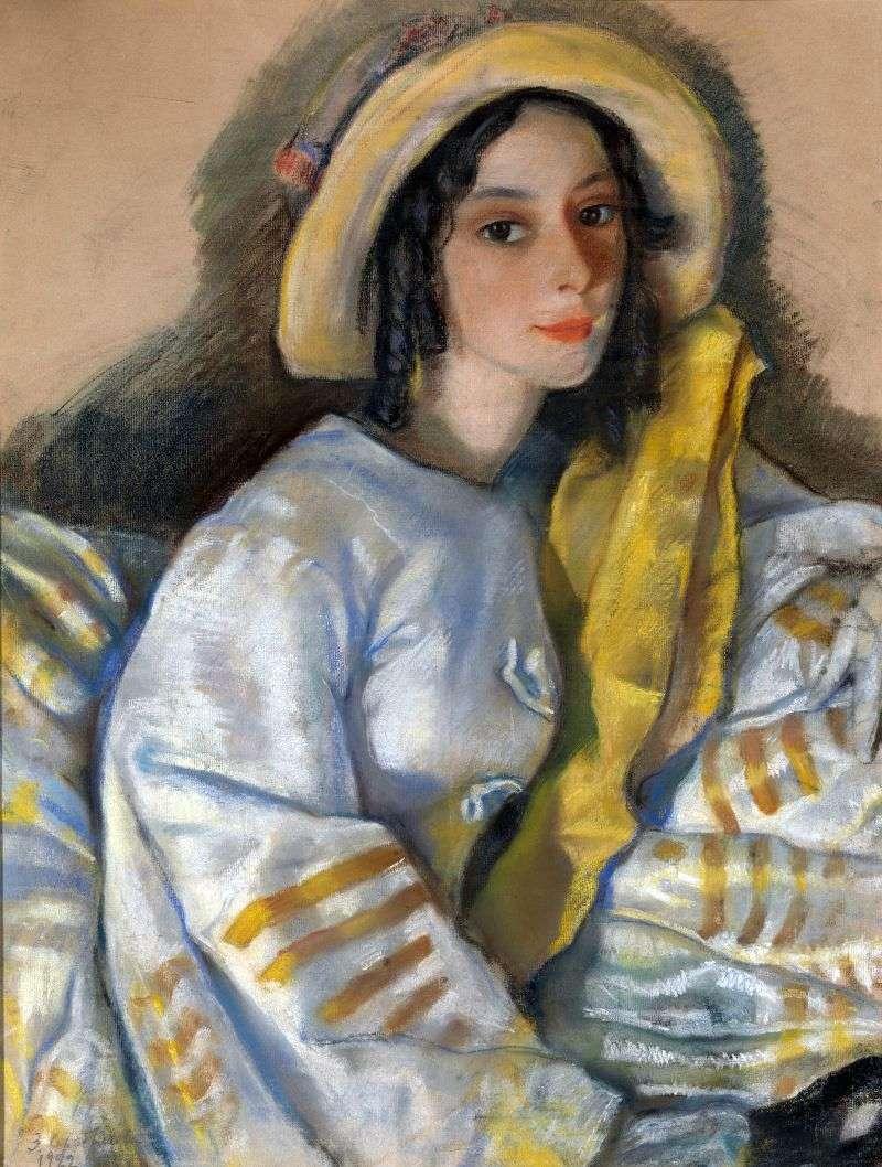 Portret M. H. Frangopulo   Zinaida Serebryakova