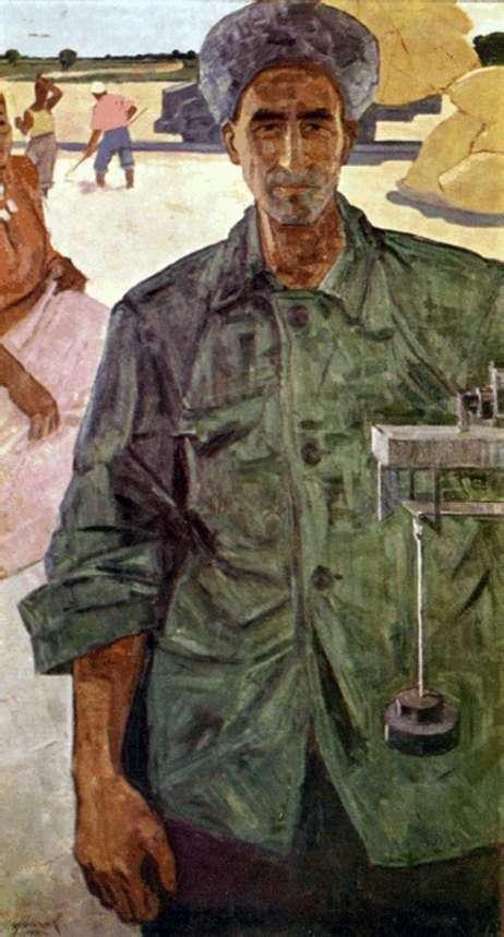 Portret Yazmurada Orazsakhatova   Izzata Klycheva