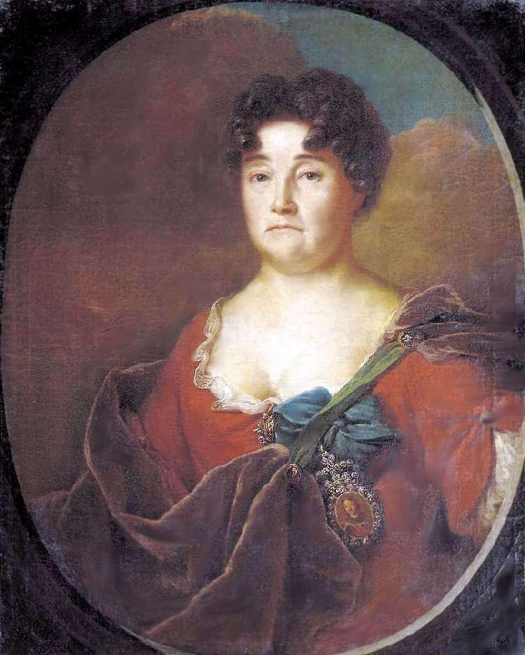 Portret A. P. Golicyny   Andrieja Matwiejewa