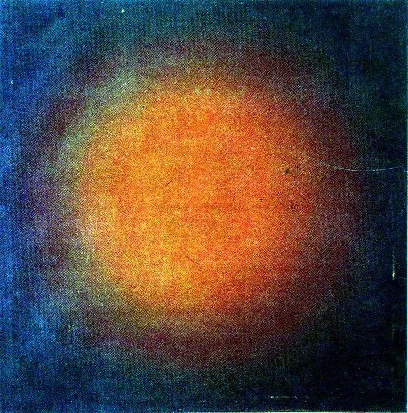 Kompozycja sferyczna koloru czerwonego   Ivan Klunkov