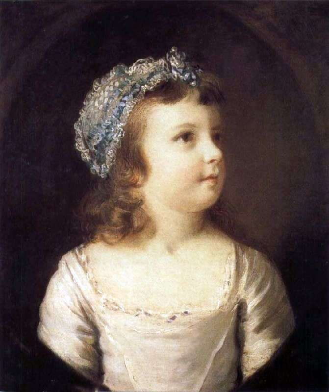 Portret dziewczynki   Joshua Reynolds