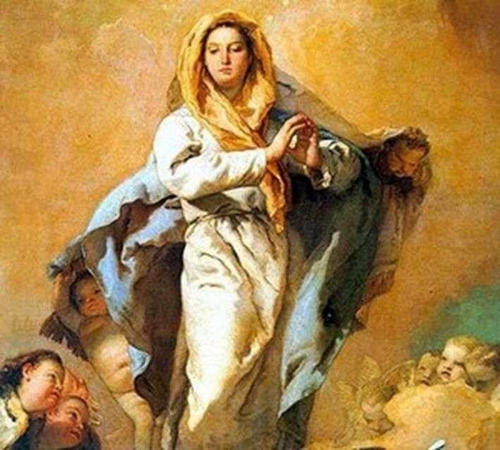 Niepokalane Poczęcie   Giovanni Battista Tiepolo