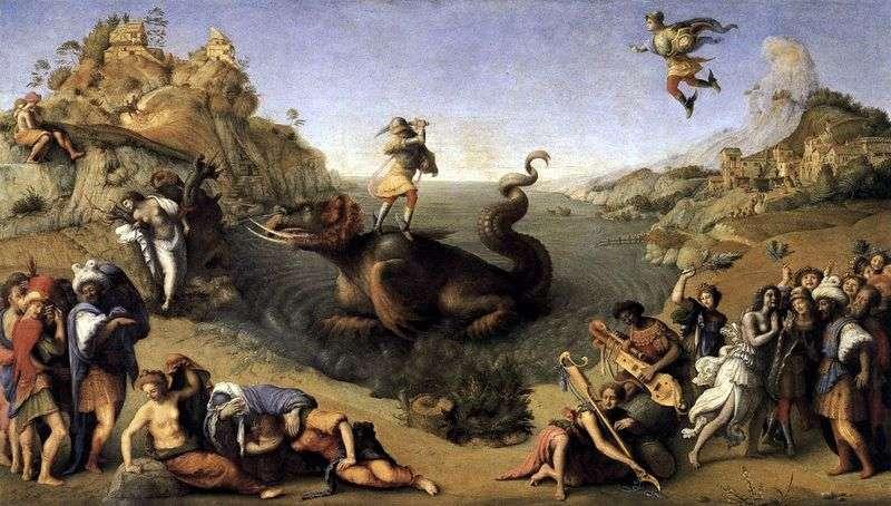 Perseus Liberating Andromeda   Piero di Cosimo