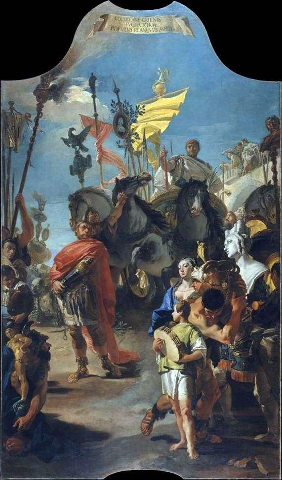 Triumph Maria   Giovanni Battista Tiepolo