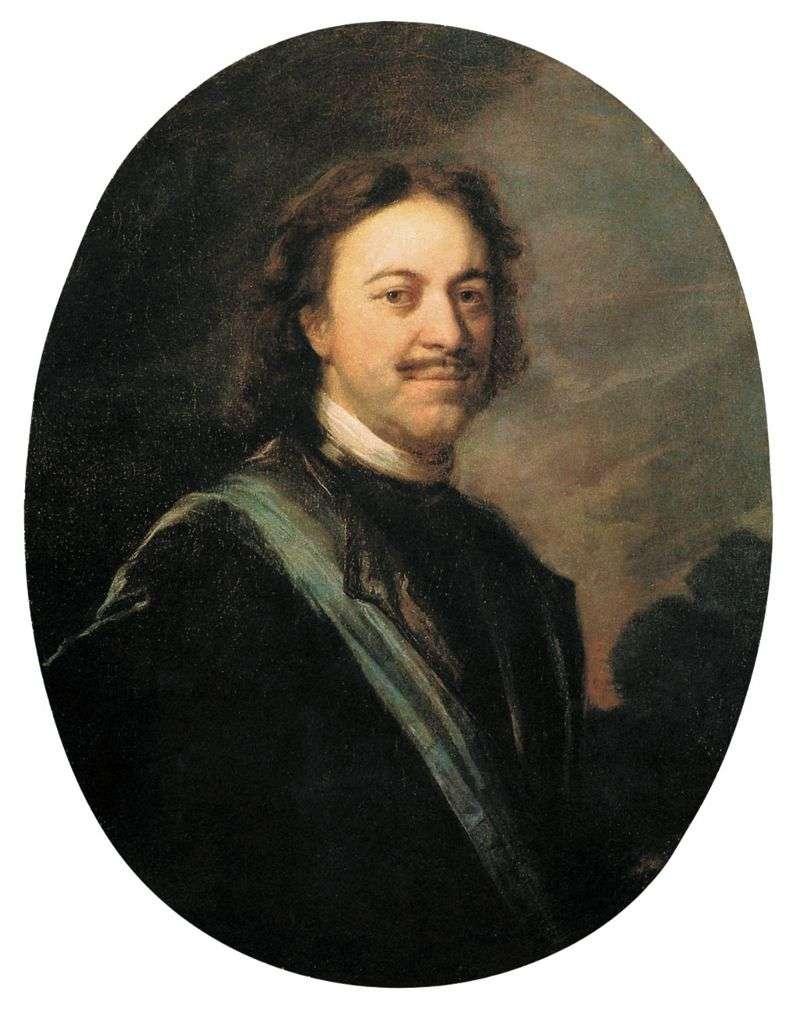 Portret Piotra Wielkiego   Andriej Matwiejew