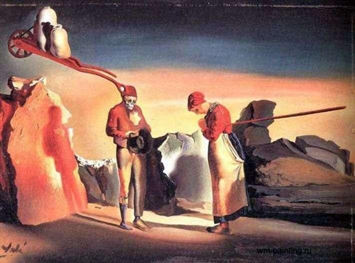 Atavism o zmierzchu   Salvador Dali