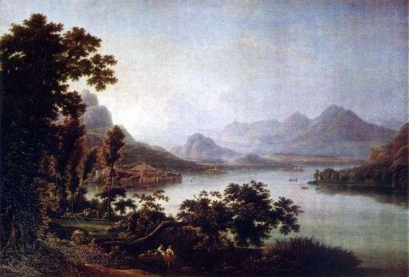 Widok Lago Manzhore   Fedor Matveyev