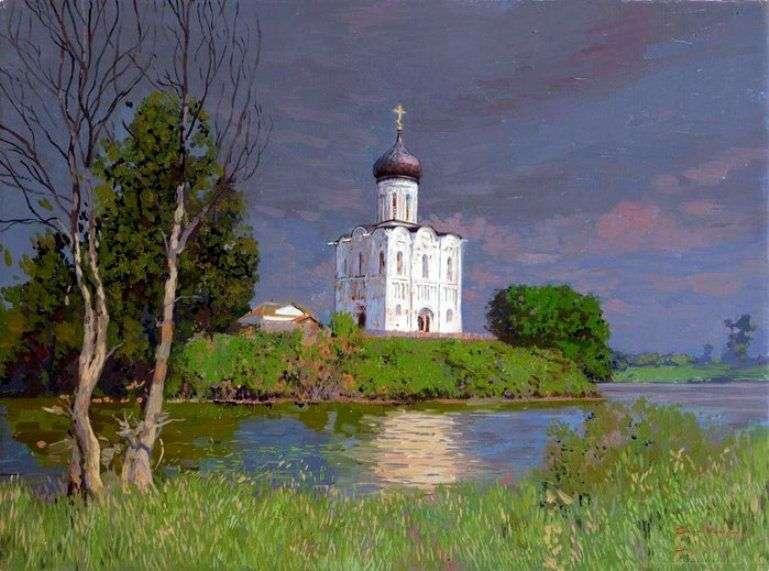 Kościół wstawiennictwa nad Nerl   Sergey Baulin